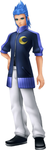 Isa in Kingdom Hearts: Birth by Sleep