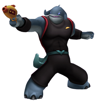 Kapitän Gantu in Kingdom Hearts: Birth by Sleep