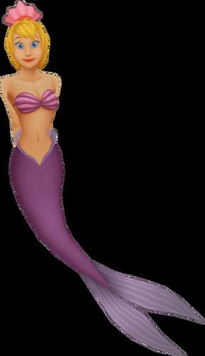 Andrina eine der beiden Schwestern von Arielle in Kingdom Hearts II