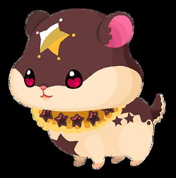 Der Traumfänger Hamstar in Kingdom Hearts Union χ