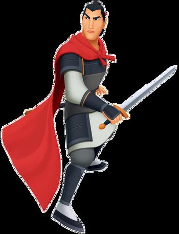 Hauptmann Li Shang in Kingdom Hearts II