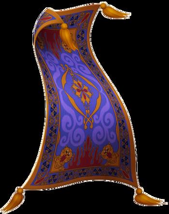 Der fliegende Teppich in Kingdom Hearts II