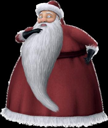 Der Weihnachtsmann in Kingdom Hearts II