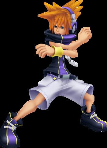 Neku in Kingdom Hearts 3D: Dream Drop Distance