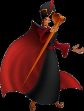 Dschafar in Kingdom Hearts ReCoded