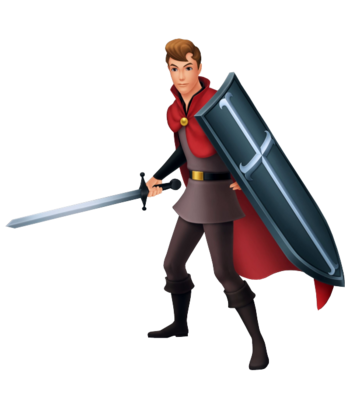 Prinz Phillip in Kingdom Hearts: Birth by Sleep