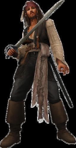 Käpt'n Jack Sparrow in Kingdom Hearts II