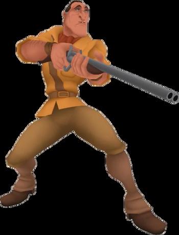 Clayton in Kingdom Hearts