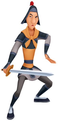 Ling in Kingdom Hearts II