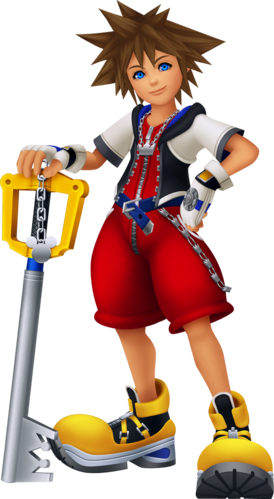 Daten-Sora in Kingdom Hearts Re:coded