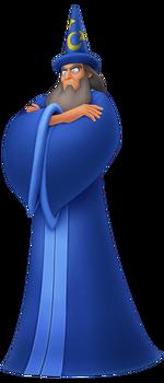Yen Sid in Kingdom Hearts: Birth by Sleep
