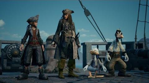 KINGDOM HEARTS III – E3 2018 Pirates of the Caribbean Trailer-0