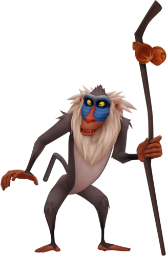 Rafiki der Mandrill in Kingdom Hearts II