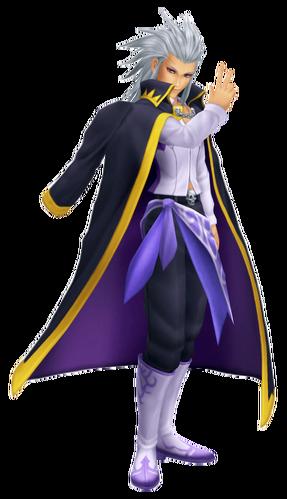 Setzer in Kingdom Hearts II