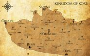 Kingdom of Kore Map