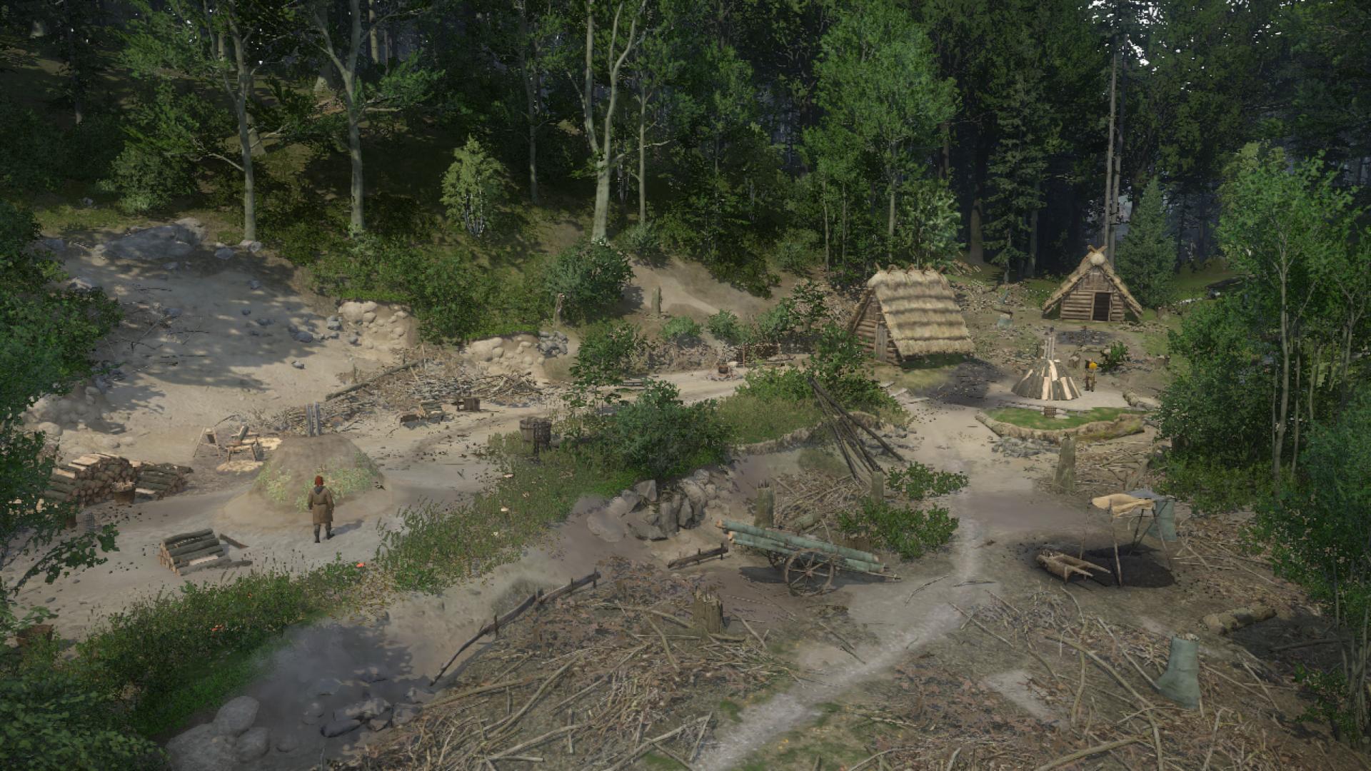 Лагерь углежогов Ровны