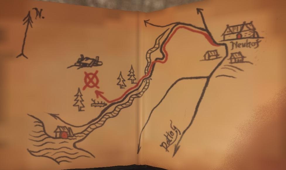Карта сокровищ XV
