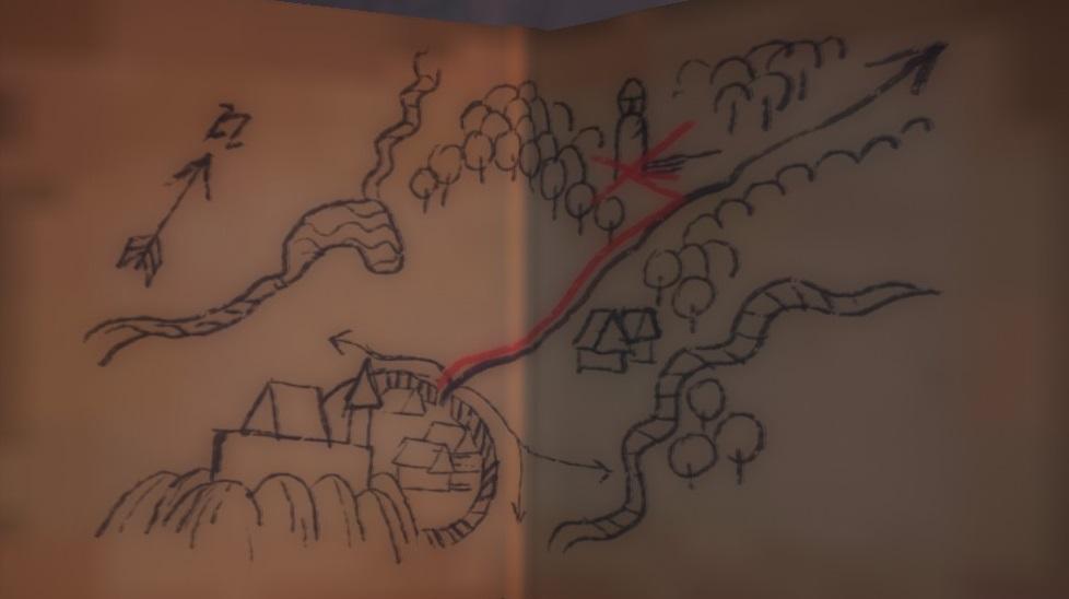 Карта сокровищ XXIII