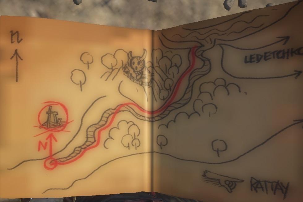 Карта сокровищ XXII