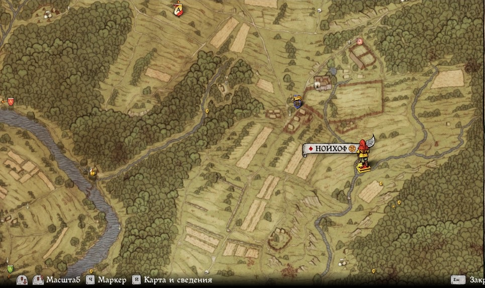 Карта сокровищ XIV