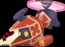 Gummi Thruster Rojo