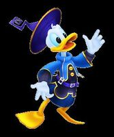 Donald en kingdom hearts birth by sleep