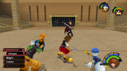 Olympus Coliseum from KH1 gameplay 2