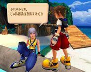 Riku talk sora