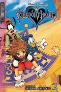 Cubierta KH1 volumen 2 manga