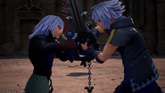 Riku vs Dark Riku KH3