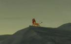 Simba rugiendo
