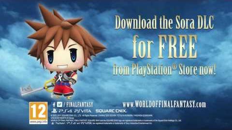 WORLD OF FINAL FANTASY - Awaken Sora from KINGDOM HEARTS as a Champion!