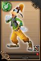 Carta N Goofy