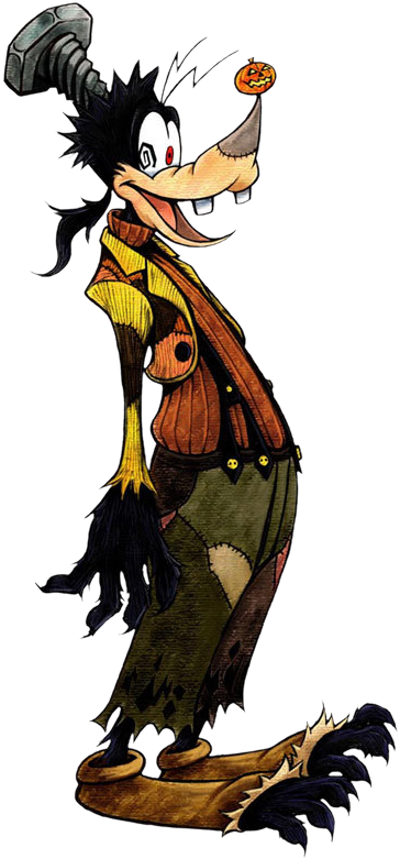 Goofy- Halloween Form (Art) KH.png