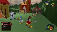 Wonderland from KH1 gameplay 2