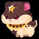 Chocolate Hamstar (Spirit) KHUX
