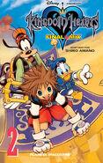 Cubierta KH1 FM volumen 2 manga
