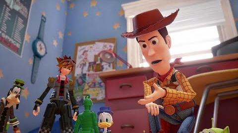 KINGDOM HEARTS III – D23 2017 Toy Story Trailer multi-language subs