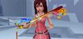 Kairi with her Keyblade KHII