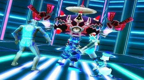 Kingdom Hearts 2 Hostile Program Boss Fight (PS3 1080p)