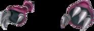 Red Armor- Gauntlets KH