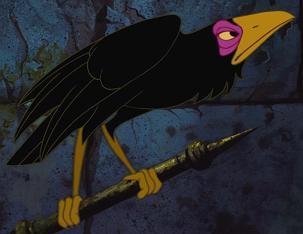 Cuervo de Maléfica