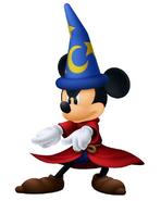 Mickey en Kingdom Hearts 3D Dream Drop Distance