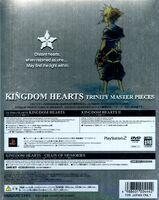 Kingdom Hearts Trinity Master Pieces Back Cover