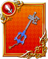 Carte 1 Keyblade (Rouge) KHDR.png