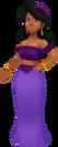 Mujer del callejón KH