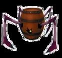 Araña de Barril