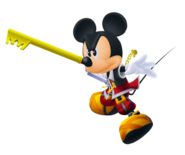 Rey Mickey (Batalla) KHII
