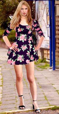 Sandra W Pain88 Skater Dress.jpg