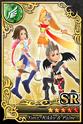 Carta SR Yuna, Rikku y Paine